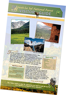 Download the FREE Manti-La Sal National Forest Visitor Guide (.pdf)